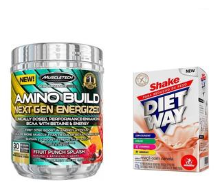 Amino Build Energized Muscletech 281g Bcaa Importado Nutrex Decanate
