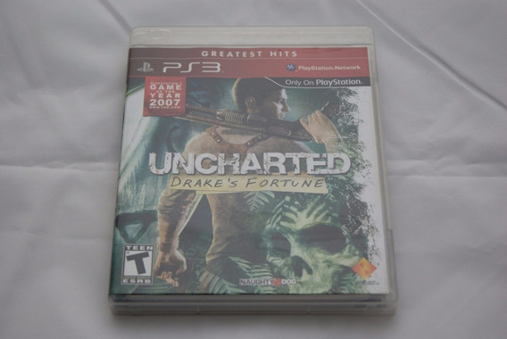 Jogo Ps3 - Uncharted Drake´s Fortune