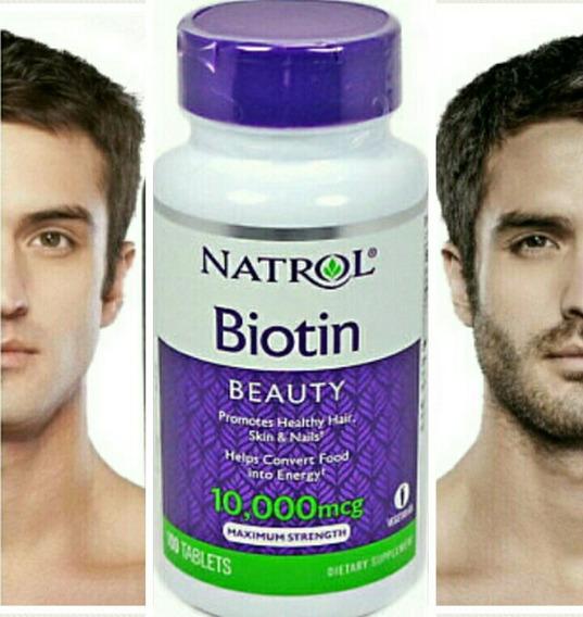 Biotina-barba-cabello