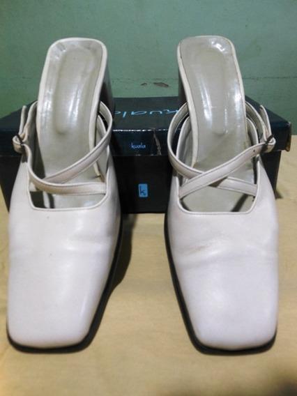 Zapato Dama Nro 39 Color Crema