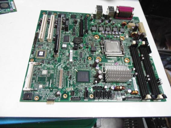 Placa-mãe Servidor Ibm X3200 M2 775 Ddr2 Fru44e7312 + Proces