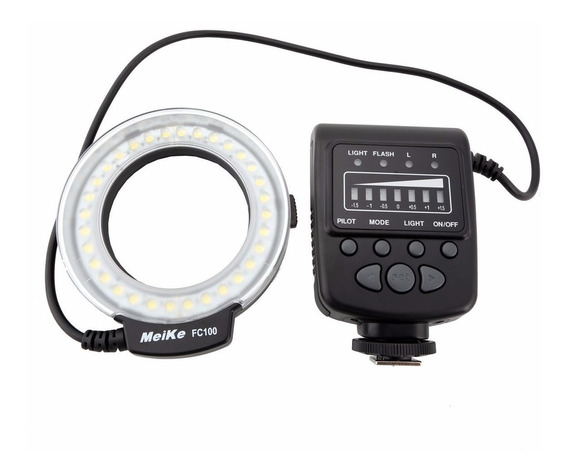Ring Flash Fc-100 Con Adaptador Para Nikon Canon Olympus Etc