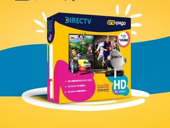 Directv Hd Prepago Antena/decodificador/control