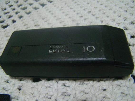 Antiga Camera Fotográfica Kodak Ektra 10 , Funcionando