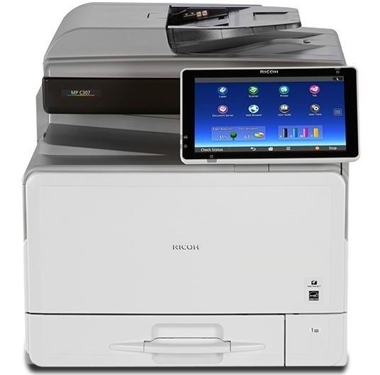Impressora Multifuncional Ricoh Mp C307 Frete Grátis Transp