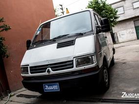 Renault Trafic Vidriada Asientos Diesel 1998 Blanco