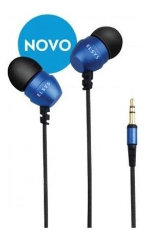 Fone Ouvido Intra-auricular Azul Elsys Eaf0112-5