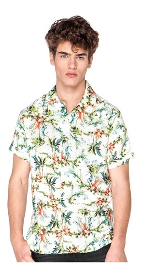 Camisa Vicus Tropic Crudo
