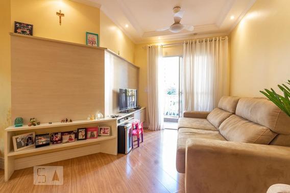 Apartamento No 1º Andar Com 2 Dormitórios E 1 Garagem - Id: 892954963 - 254963