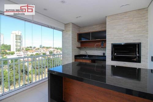 Apartamento Com 3 Dormitórios À Venda, 153 M² Por R$ 1.450.000,00 - Freguesia Do Ó - São Paulo/sp - Ap3994