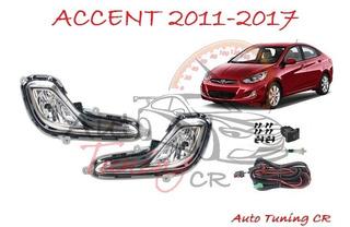 Halogenos Hyundai Accent 2011-2017