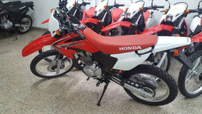 Jm-motors Honda Xr250 Tornado Rojo Tricolor Modelo 2017