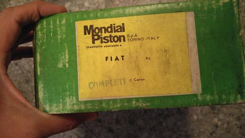 Pistones Mondial Originales Fiat 1500 125 600