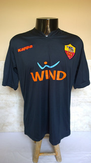 Camisa Futebol Da Roma Da Itália - Kappa