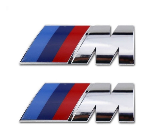 Par Emblemas M Bmw Motorsport Paralamas M3 M5 M6 X1 X3 X5 X6