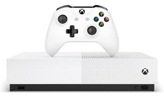 Xbox One S 1tb All Digital Novo Original Envio Hoje À Vista