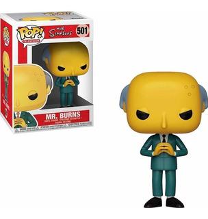 Funko Pop The Simpsons Mr Burns 501