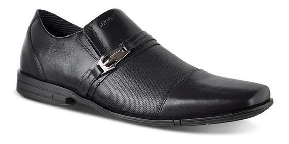 Sapato Masculino Social Couro Ferracini 3706220g Preto