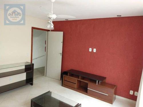 Imagem 1 de 20 de Apartamento Com 2 Dormitórios À Venda, 88 M² Por R$ 382.000,00 - Campo Grande - Santos/sp - Ap5941