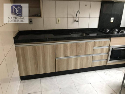 Apartamento Com 2 Dormitórios À Venda, 50 M² Por R$ 175.000 - Parque Das Nações - Santo André/sp - Ap8375