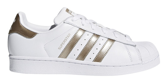 Zapatillas adidas Originals Moda Superstar W Mujer Bl/do