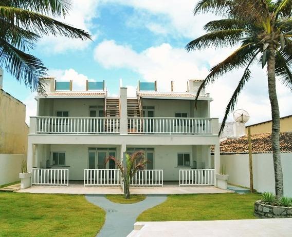 Apartamento Com 2 Dormitórios À Venda, 200 M² Por R$ 440.000,00 - Praia De Tabatinga - Nísia Floresta/rn - Ap5485