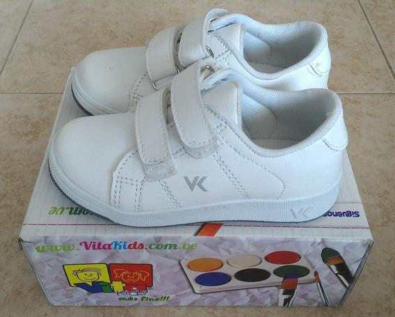 Zapatos Vita Kids Deportivo Colegial Talla 27. Nuevo!