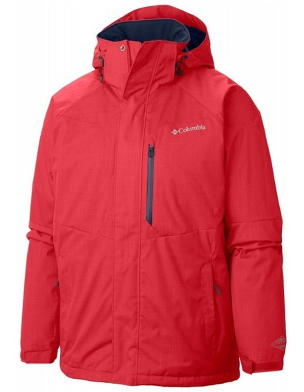 Campera Columbia Alpine Action Impermeable Sky Hombre