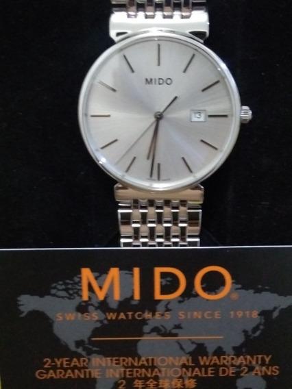 Relógio Mido M009610a Original Eta 955 412 Impecável Slim