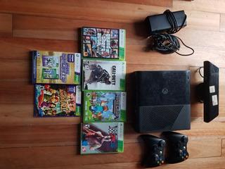 Xbox 360 4gb + 7 Juegos Originales + 2 Controles + Kinect