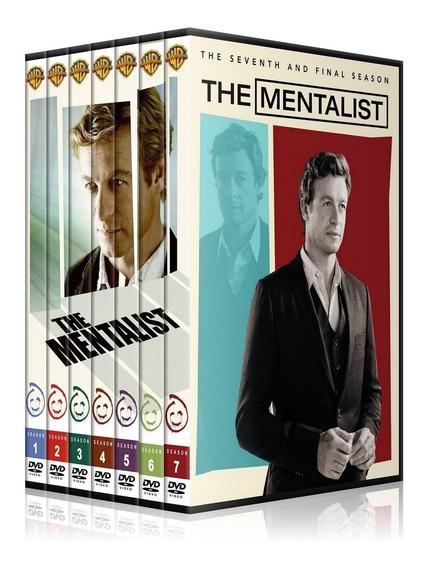 Seriado O Mentalista 34 Dvds Completo Lindo Box!