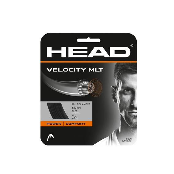 Head Velocity Tennis Set De Cuerdas, 17 G, Negro