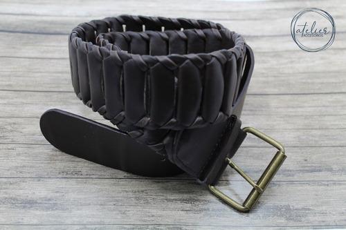 Cinturón Trenzado Tipo Cadena