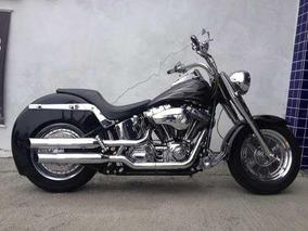 Harley-davidson Softail Fat Boy - Customizada - 2004