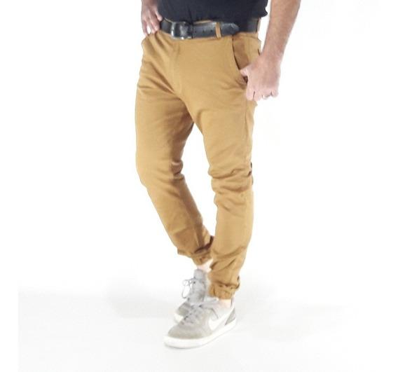 Pantalon Joggers Mostaza