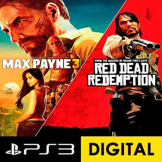 Max Payne 3 Complete Edition&red Dead Redemption Bundle Ps3