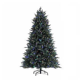 Arbol De Navidad Artificial 2.28m Con 600 Luces Led