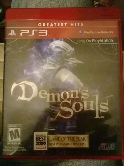 Jogo Mídia Física Ps3 Demons Souls Original Demon