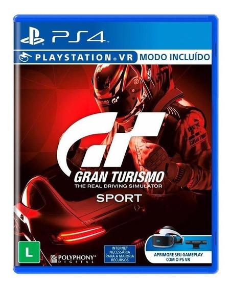 Jogo Gran Turismo Sport Mídia Física - Ps4