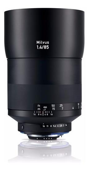 Zeiss Milvus 50mm 1.4 Lente Para Canon Ef E Nikon F