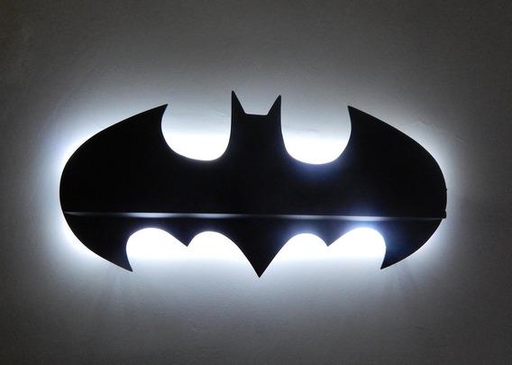 Prateleira Luminária Led Batman