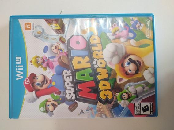 Jogo Super Mario 3d World Original Para Nintendo Wii U