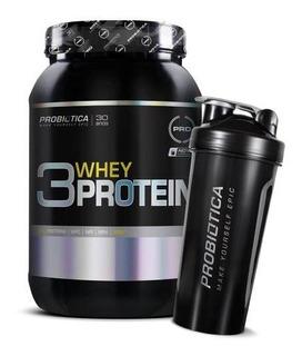 Whey Protein 3w 900g + Coqueteleira De Brinde - Probiótica