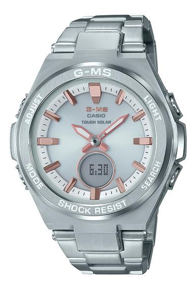 Reloj Casio Msg-s200d-7acr Para Dama Correa De Resina