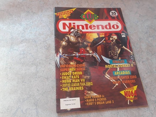 Revista Video Juegos Club Nintendo