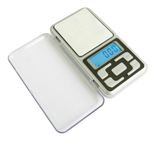 Mini Balança Digital De Bolso Alta Precisão 0.1g Até 500g