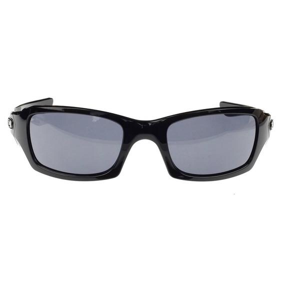 Lentes Oakley Fives Squared Polished Black / Grey Oo9238-04