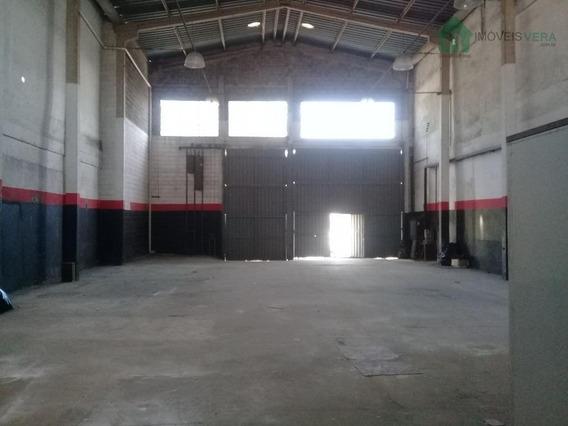 Galpão Comercial Para Locação, Arraial Paulista, Taboão Da Serra. - Ga0017