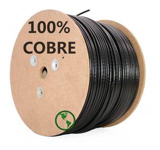 Cable Utp 100% Cobre Exterior Cat5e 305mts Filtro Uv Calidad