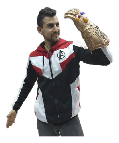 Buzo Avengers  Marvel Comics  Bordado